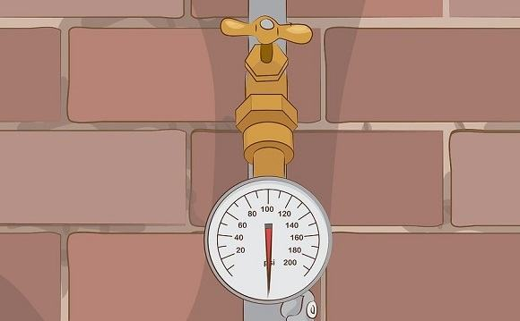 home water pressure gauge