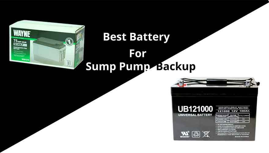 best battery for sump pump backup